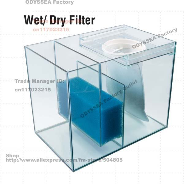 Diy sump ideas need advice from pros aquarium advice for Diy biological filter media