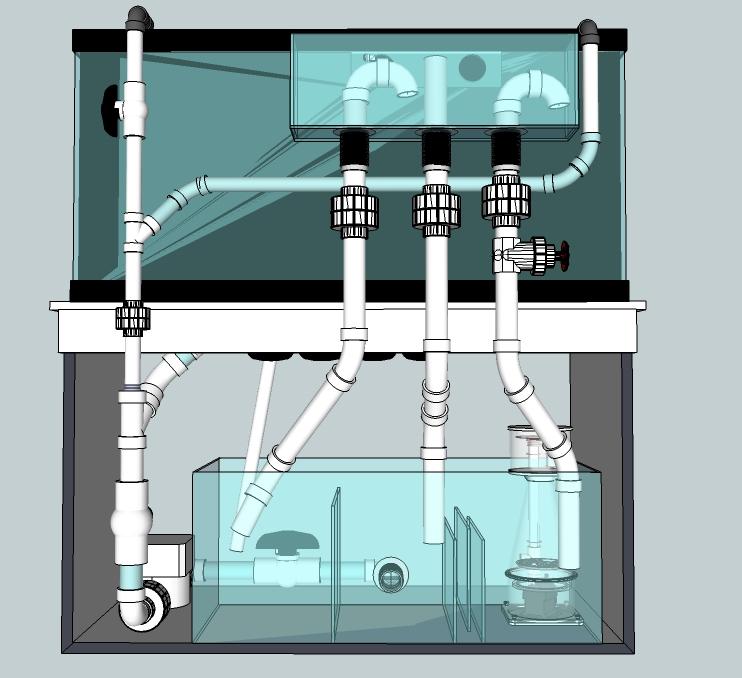 diy aquarium plumbing best accent chairs and