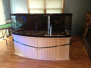220 Gallon Bow Front Rebuild And Diy Sump Aquarium
