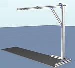 Light stand isometric