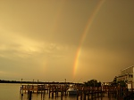 A pic of a double rainbow in Ft. Pierce, FL.