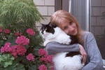 Me and my cat Sissel :]