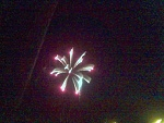 This is a picture I took on the fourth of July.