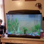 Caleb and tank