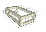 here is a sketchup model of a canopy for a 10 gallon tank. it uses 2x2 framing (actual=1.25 in.)